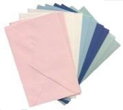10 Brief-Umschläge/Kuverts-U-015-5 Farben-für Midikarten