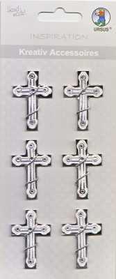 Ursus-3D Kreativ Accessoires-KA220-Kommunion / Konfirmation / Taufe-Kreuz