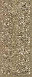 Micro-Glittersticker-Bogen-Sterne-Baumschmuck-gold-4465gg