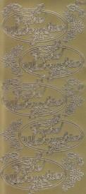 Zier-Sticker-Bogen-Frohe Weihnachten-im Oval-gold-W-1535g