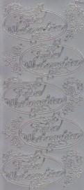 Zier-Sticker-Bogen-Frohe Weihnachten-im Oval-silber-W-1535s