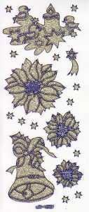 Micro-Glittersticker-Sterne-Glocke-Kerze-gold-blau-4449ggbl