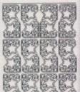 Micro-Glittersticker-Ecken-Sterne-transparent/silber-7063Gtrs