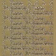 Zier-Sticker-Bogen-Frohe Weihnachten-gold-W455g
