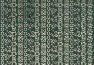 Zier-Sticker-Bogen-Ränder-Sterne-grün/gold-W140grg