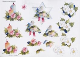 3D Etappen-Bogen-Wekabo-668-Blumen-Kerzen-Stern-Marieke's Design