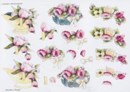 3D Etappen-Bogen-Blumen-Wekabo-695