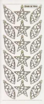 Gravur-Sticker-Bogen-Weihnachten-Kugeln-Baumbehang-transparent-gold-W-7094trg