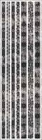 Spiegel-Foliensticker-25061 -Bordüren schwarz auf Spiegelolie