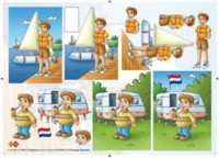 3D Etappen-Bogen-CD 10007-Segeln und Camping