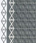 Zier-Sticker-Bogen-Neusten Ränder-2107s