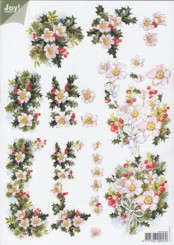 3D Etappen-Bogen-Joy-Crafts-1002-Tannengirlande-Blumengesteck