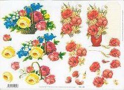 3D Etappen-Bogen-Blumengruß-11055-050