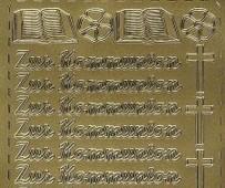 Zier-Sticker-Bogen-Zur Kommunion-267g