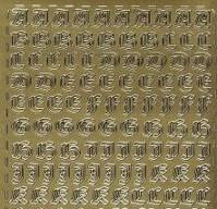 Zier-Sticker-Bogen-Alphabet-ABC-Gothic-286g