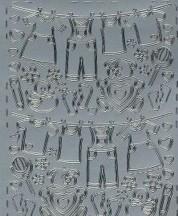 Zier-Sticker-Bogen-Baby-Motive-z.B.Wäsche-324s