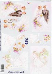 3D Bogen Brautpaare-4169163