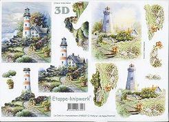 3D Etappen-Bogen-Leuchtturm-4169227