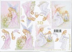 3D Etappen-Bogen - Fee mit Kindern-4169330