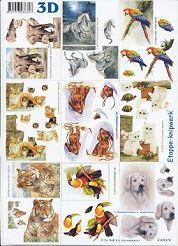3D Etappen-Bogen / Wild und Haustiere-4169374