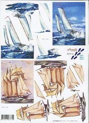 3D Etappen-Bogen-8215110- Segelschiff