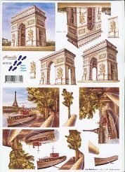 3D Etappen-Bogen-Frankreich/Paris/Eifelturm-8215132