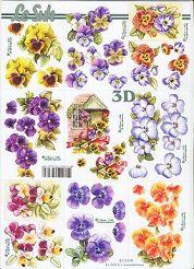 3D Etappen-Bogen-Blumen 3-821590
