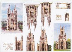 3D Etappen-Bogen-Kirchen-821521