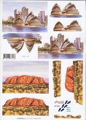 3D Etappen-Bogen-Australien/Sydney-821588