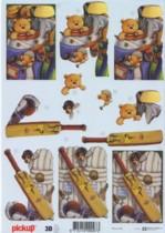 3D Etappen-Bogen-sportlicher Bär-Golf-Pickup 069