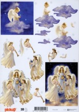 3D-Etappen-Bogen-Engel Orchester-Pickup 086