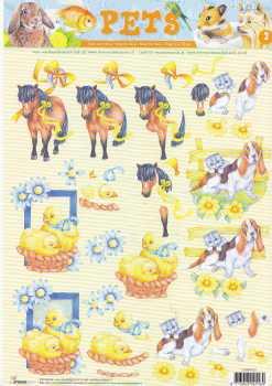 3D-Etappen-Bogen-Pets-Pony-Hund-Katze-Küken-StudioLight  007