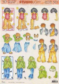 3D Etappen-Bogen - Coole Teenager-StudioLight-STSL 536