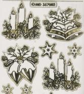 Zier-Sticker-Bogen-Weihnachtsmotive-transparent-gold-W-MD7002trg