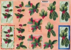 3D Bogen-Etappenbogen-Ilexzweige-X0002